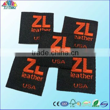 garment brand woven label /clothing woven label for product brand label