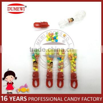 Lighting Microphone Toy with Fruit Flavor Tablet Candy