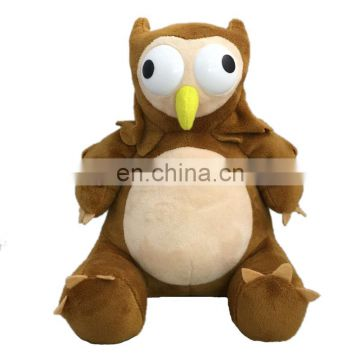 2017 New arrived plush stuffed owl bear plush toy V0048