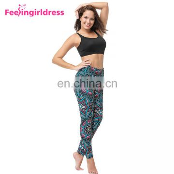 No Moq Work Out Fashion Indian Custom Print New Mix Brushed Leggings
