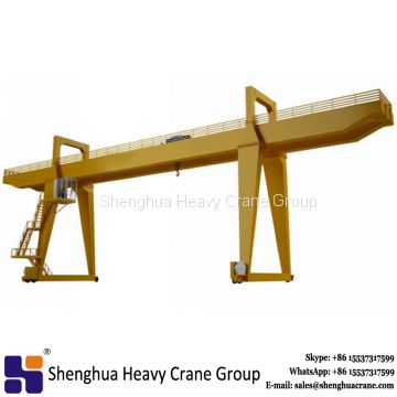 25t 50t mg model hook door rail container gantry crane