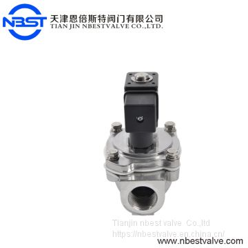 Normally Closed Purity  Pulse Solenoid Valve For Clean Dust