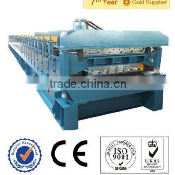 double layer zinc arch roofing roof ridge cap roll forming machine