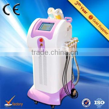Hottest sale CE approved Vertical 8 IN 1 ipl rf laser hair removel machine