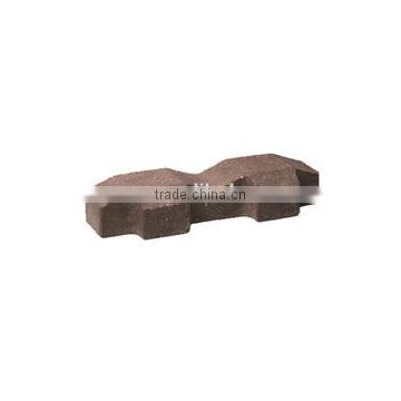 standard size of clay brick for parking lot/ square tile in high quality