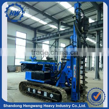 Hydraulic diesel hammer pile driver auger piling driver machine for sale