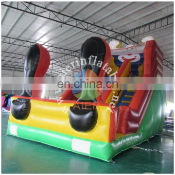 giant clown slide/inflatable dry slide Guangzhou