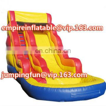 Fantastic inflatable medium size water slide for sale ID-SLM085