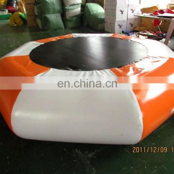 exciting inflatable trampoline,inflatable water jumping bed
