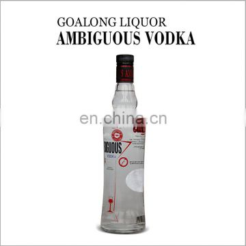 Wholesale price custom high qualified fashional style vodka