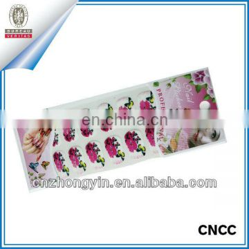 Non-toxic free nail sticker with high quality (ZY7-1012)