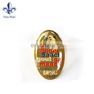 funny souvenirs item badge with medal