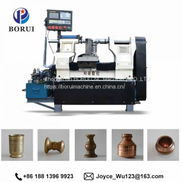 Borui build a cnc controller metal Spinning cnc lathes machine tol with low cost