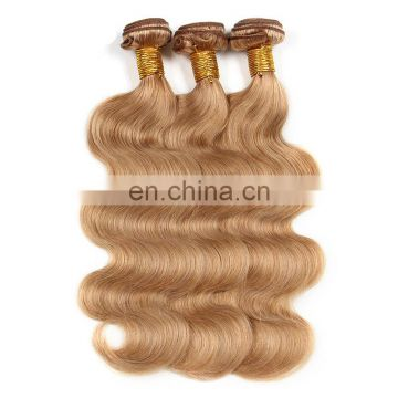Vietnamese / Cambodian remy hair colorful human hair weft extensions