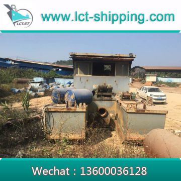 High quality Cutter Suction Dredger with 12cm diameter Pipe