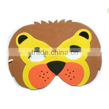 2016 factory lovely hot-selling Child DIY EVA 3D Animal Mask for party