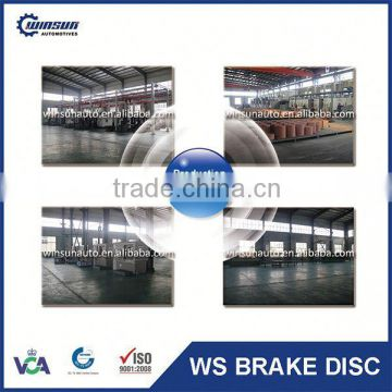 Excellent European Truck Spare Parts Brake Disc With OE 4079001001