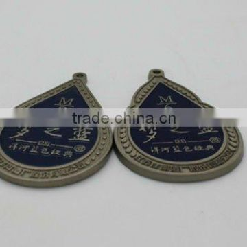 Customized high quality metal label made in china