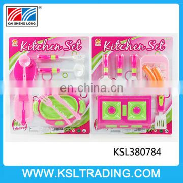 Nice design toy kitchen set for kids two style mixs