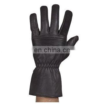 HMB-2029A LEATHER MOTORCYCLE GLOVES THINSULATED RIDER