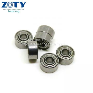 10pcs 681XZZ Miniature Bearings ball Deep Groove Mini bearing 1.5x4x2 1.5*4*2mm