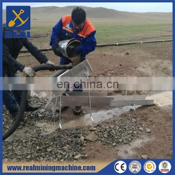 High efficient gold mining sluice box made in China good price good quality