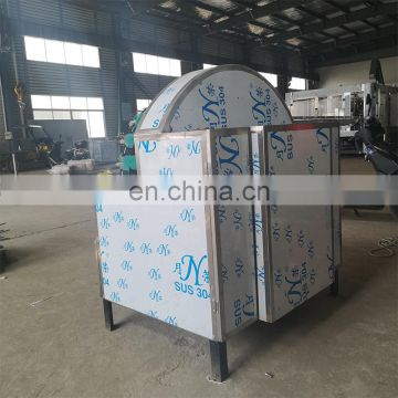 Glass bottle recycle machine /Automatic brush glass bottle label remove machine