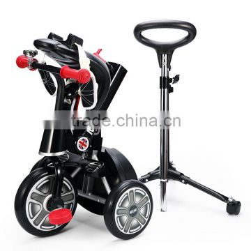 RASTAR carbon steel and ABS plastic material MINI folding 3 wheel tricycle bike