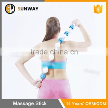Hot Sale Simplicity Fastion Soft Silicone Roller Massage Stick