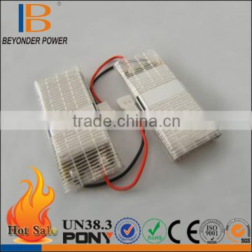 Cheap in promotion 3.7v rc battery operated toy cat high safety ithium polymer battery 3.7v 400mAh, factory good quality OEM