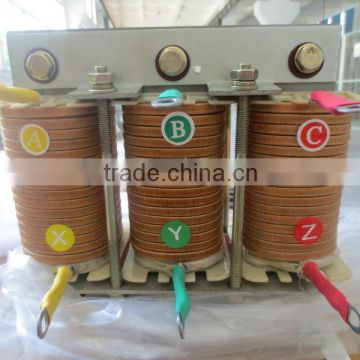 low voltage power capacitor reactor aluminum and copper