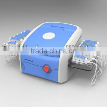 Hot sell! 650 and 980nm i lipo diode laser slimming with 12 pads 176 lamps for fat burning easy operate lipo laser machine