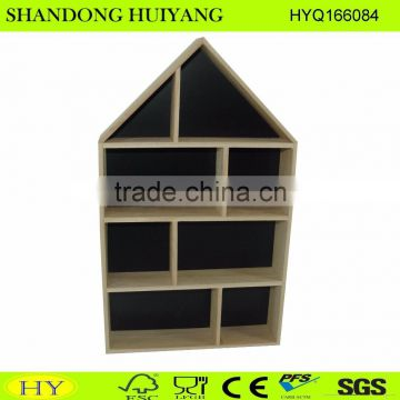 house shaped wood wall display wholesale