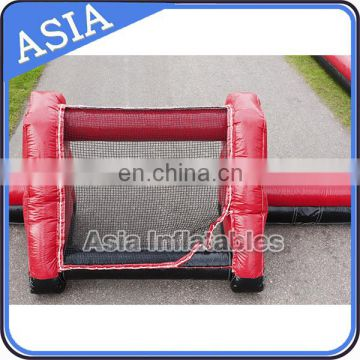 New design four goals inflatable soccer field for sale / outdoor football arena