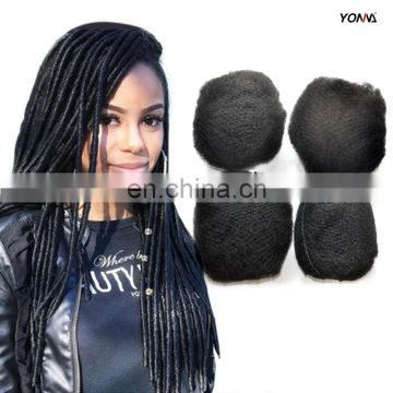 African Human Peruvian Hair Sexy Girls Afro Kinky Hair New Premium Human Hair Extension