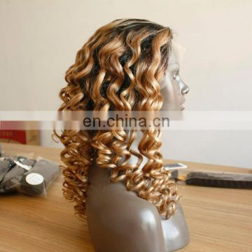 High quality virgin remy human hair lace front wig brazilian human hair with baby hair