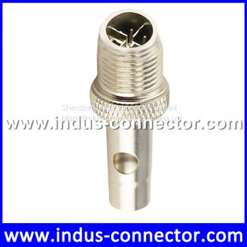Equivalent to amp molded m12 X code 8 pins ip68 male connector for aviation