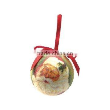 Polyfoam Santa Claus Christmas Ball Ornament Decoration