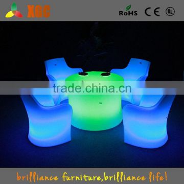 used nightclub furniture colorful table and chairs set