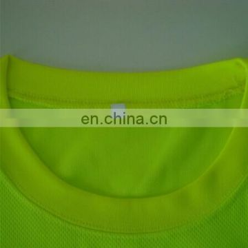 Cheap High Visibility Long sleeve safety polo t-shirt vest,yellow reflective safety vest