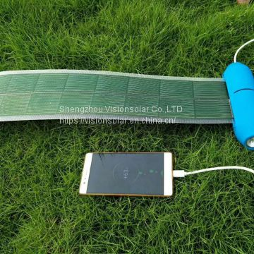 5WHigh power flexible reel solar power supply.
