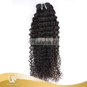 Cheap Human Hair Clip In Hair Extensions For African American Afro Kinky Curly Ombre Hair Extension Clip In For Black Women