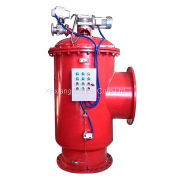 Industrial water self-cleaning filter housing