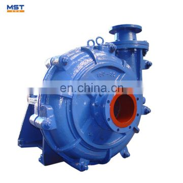 Horizontal high viscosity pump fuel pump