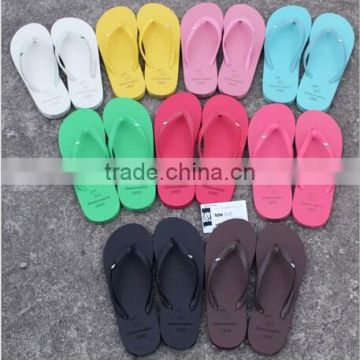 promotional high quality and cheap price EVA Ladies' fashion flip flop with your logo