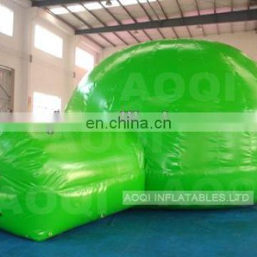 cartoon painted air tight inflatable tent