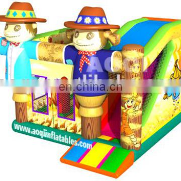 2015 new design scarecrow inflatable combo