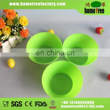 3 pcs new product disposable plastic salad bowl