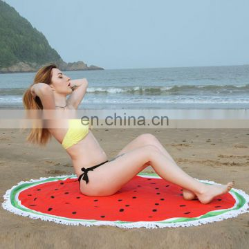 Funny Printed Round Beach Sarong Towel