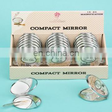 TRAVEL DESIGN MIRROR COMPACTS